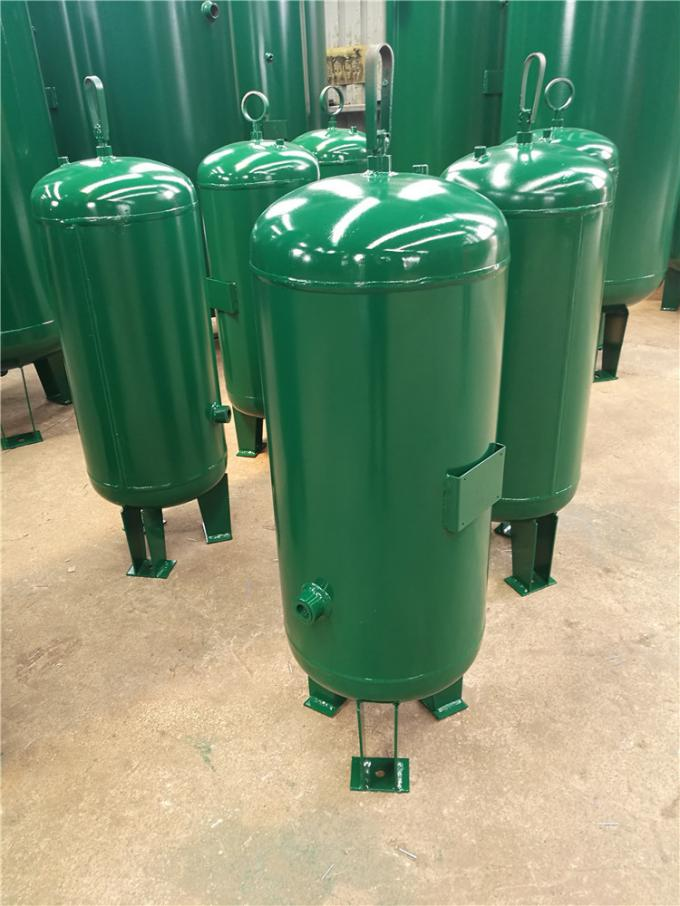 Long Lasting Vertical Air Compressor Tank , 50L 145psi Compressed Air Accumulator Tank