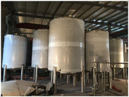 Industrial Gasline / LPG Gas Storage Expansion Tanks With Full Parts Vertical Orientation