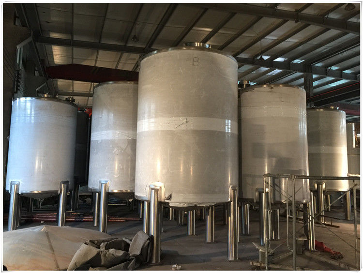 Stainless Steel LPG / Oxygen / Nitrogen Gas Storage Tank For Pharmaceutical Use