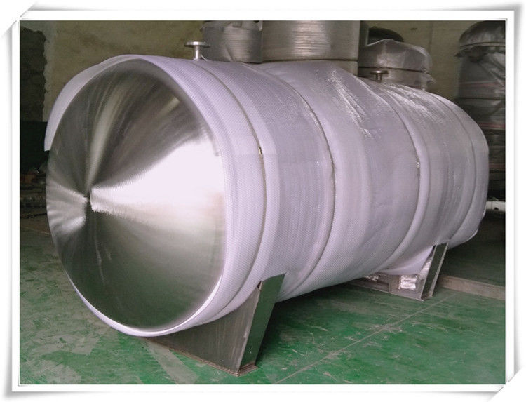 Food Grade Stainless Steel Compressed Air Holding Tank , Stainless Steel Storage Tanks